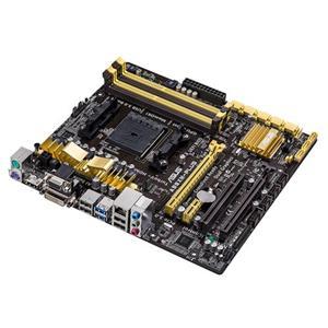 ASUS A88XM-PLUS,FM2+/A88X,VGA,DVI,HDMI,Gbe,8CH,2xPCIe 3.0(x16/x4),8xSATA3/R,4xUSB3.0,4xDDR3/2133,mATX