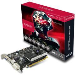 Sapphire Radeon R7 240 / PCI-E/ 1GB DDR3/ DVI/ HDMI BOOST