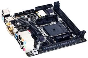 GIGABYTE F2A88XN-WIFI FM2+/A88X,Wifi,DVI,2xHDMI,Gbe,8CH,PCI-e x16,4xSATA3/R,4xUSB3.0,2xDDR3/2133,miniATX