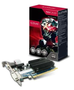 Sapphire Radeon R5 230 / PCI-E/ 1GB DDR3/ DVI/ HDMI / VGA Pasiv /Low Profile