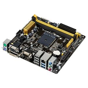 ASUS AM1I-A AM1,VGA.DVI,HDMI.LAN,8CH,PCIe 2.0 x4,2xSATA3,2xUSB3.0,2xDDR3/1600,miniATX