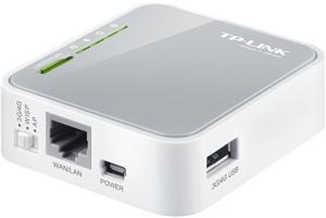 TP-LINK TL-MR3020, Wireless 3G/4G LTE přenosný router 150 Mbps,1x WAN/LAN,1 x USB