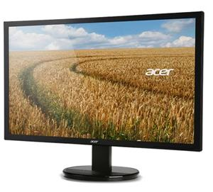 "24"" ACER K242HLbd, 1920x1080, 5ms, 100M:1, DVI, LCD, LED, SLIM, Black"