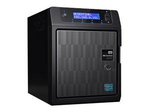 WD Sentinel DS5100 8TB (4x2TB),RAID 1,5, 2xGLAN,4x USB 3.0, černý