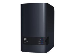 "WD My Cloud EX2 NAS bez HDD 2x 3.5"" Raid, GLAN (RJ45), 2x USB 3.0"