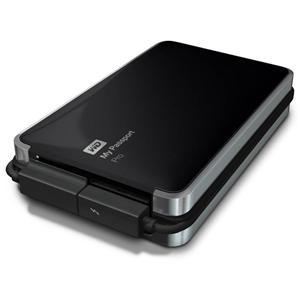 "WD My Passport Pro 2TB externí HDD 2.5"" Raid,Black,Thunderbolt"