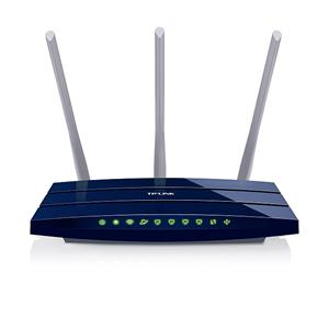 TP-LINK TL-WR1043ND, Wireless N router 300Mbps,1x WAN,4x LAN,USB,3x anténa