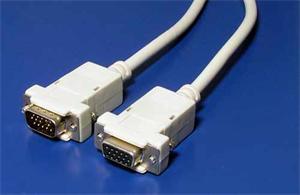 Kabel prodloužení monitoru VGA 3m, 15 pin