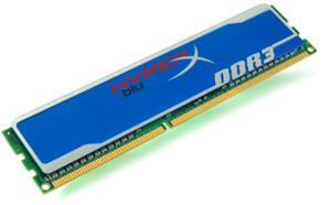 4GB DDR3 1600MHz DIMM Kingston HyperX FURY Blue CL10
