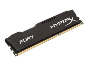 4GB DDR3 1600MHz DIMM Kingston HyperX FURY Black CL10