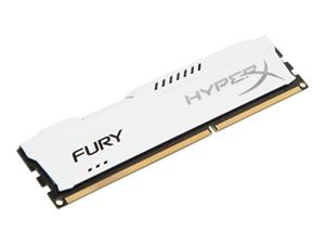 4GB DDR3 1600MHz DIMM Kingston HyperX FURY White CL10