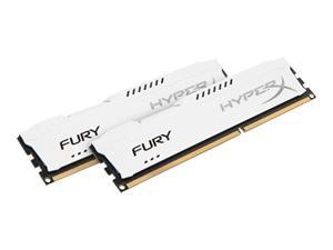 16GB (2x8GB Kit) DDR3 1866MHz DIMM Kingston HyperX FURY White CL10