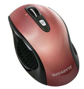 GIGABYTE myš GM-M7700 Laser/ bezdrátová 2.4GHz/ 800/1600 dpi/ USB/ červená