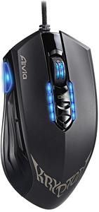 GIGABYTE myš GM- Aivia KRYPTON/ Laser/ drátová/ USB/ 8200 DPI/ nastavitelná váha a skluz/ černá