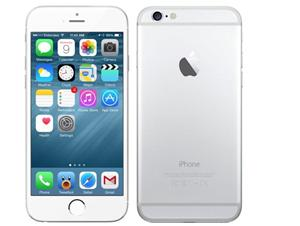 Mobilní telefon Apple iPhone 6 128GB - stříbrný