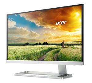 """27"""" ACER S277HKwmjdpp, 3840x2160, 100M:1, 4ms, DVI, HDMI, DP, mini DP, repro, 4K IPS LED, Silver"""
