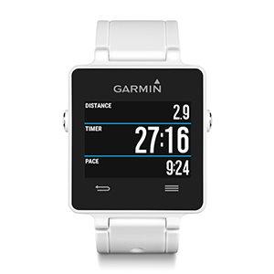 Garmin vívoactive White HR Premium, monitorovací náramek/hodinky