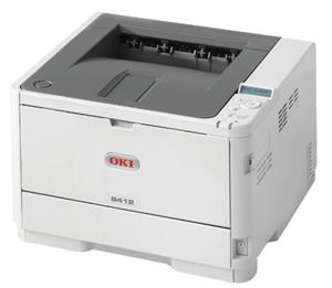 OKI B412dn A4, LED, 33 ppm, 1200x1200 dpi, PCL, 512MB, 3GB eMMC, USB, LAN, Duplex