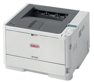 OKI B432dn A4, LED, 40 ppm, 1200x1200 dpi, PCL/PS, 512MB, 3GB eMMC, USB, LAN, Duplex