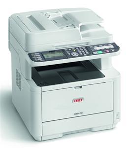OKI MB472dnw MFZ+Fax A4, LED, 33 ppm, 1200x1200, PCL, 512MB, 3GB eMMC, RADF, USB, LAN, Wi-Fi, Duplex