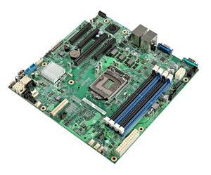 Intel Server MB Rainbow Pass DBS1200V3RPL,LGA1150,C226,2xGbe,VGA,4xPCI-E,6xSATA3/R,4xDDR3L/1600,mATX