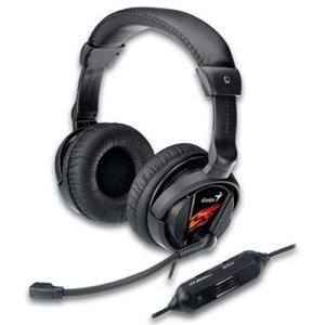 Genius headset - HS-G500V sluchátka s mikrofonem Gaming, s vibracemi