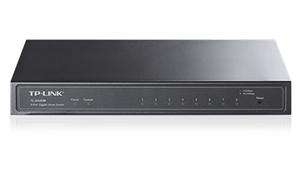 TP-LINK TL-SG2008D Gigabit Smart Switch 8x 10/100/1000Mbps, VLAN, STP, IGMP, SNMP, desktop