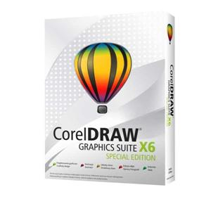 CorelDRAW Graphics Suite X6 Special Edition Box CZ/PL