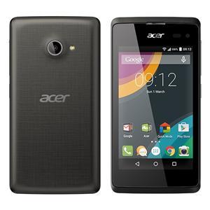 """Acer Liquid Z220 4"""" 800x480, 1.2GHz Dual-Core, ROM 8GB, RAM 1GB, kamera 2Mpx / 5Mpx, Dual Sim, Android 5.0, Black"""