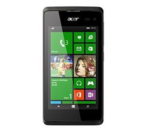 """Acer Liquid M220 4"""" 800x480, 1.2GHz Dual-Core, ROM 4GB, RAM 512MB, kamera 2Mpx / 5Mpx, Dual Sim, W8.1, Black"""