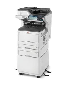 OKI MC853dnct MFZ+Fax A3/A4, LED, 23/23 ppm (A4), ProQ2400, PCL/PS, 1.26GB, HDD 250GB, USB, LAN, Duplex, 2.zás.
