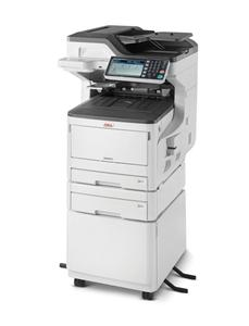 OKI MC873dnct MFZ+Fax A3/A4, LED, 35/35 ppm (A4), ProQ2400, PCL/PS, 1.26GB, HDD 250GB, USB, LAN, Duplex, 2.zás