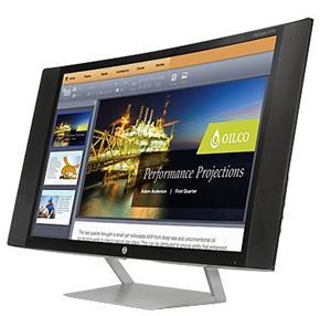 "27"" prohnutý LCD LED monitor HP EliteDisplay S270c, 1920x1080, VESA, VGA, HDMI, MHL 2.0, 4xrepro 4W, DTS"