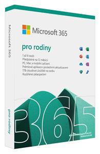 Microsoft Office 365 pro domácnosti 32-bit/x64 CZ Elektronicky - předplatné na 1 rok