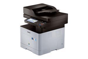 """SAMSUNG SL-C2680FX barevná MFZ+fax (A4, 26ppm, 4800x4800dpi, 1GB, Duplex, 7"""" dotykový displej, USB, LAN)"""