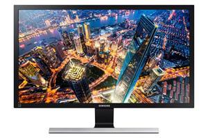 "28"" LCD Samsung U28E590, LED, 3840x2160, 1ms, MEGA kontrast, 2xHDMI, DP, černý"