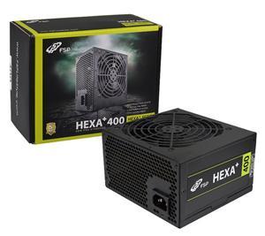 Fortron zdroj HEXA+ 400W,act.PFC,12cm,20/24pin,PCI-E, >80%