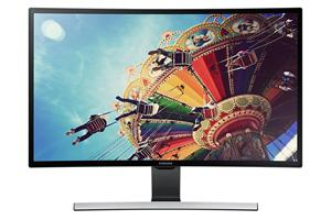 "27"" LCD Samsung T27D590C prohnutý, VA LED, 1920x1080, 5ms, MEGA kontrast, 2xHDMI, USB, PIP, DVB-T/C, CI, Repro, černý"