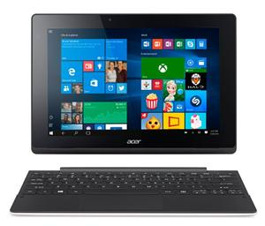 "Acer Switch 10 E (SW3-016-14W5), Atom TM x5-Z8300, 2GB, 64GB, 10,1"" IPS LED 1280x800,Windows10 Home, WhiteBlack"