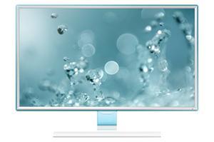 "23.6"" LCD Samsung S24E391, PLS LED, 1920x1080, 4ms, MEGA kontrast, HDMI, bílý"