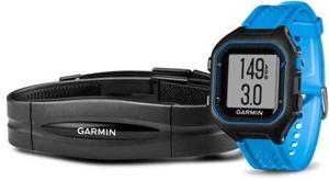 Garmin Forerunner 25 HR Black/Blue (vel. XL), sportovní hodinky