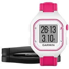 Garmin Forerunner 25 HR White/Pink (vel. S), sportovní hodinky