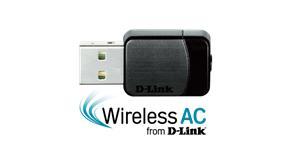 D-LINK DWA-171 Wireless AC Dual Band Nano USB Adapter