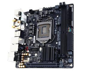 GIGABYTE Z170N-WIFI 1151/Z170,BT,WiFi,DVI,2xHDMI,Gbe,PCIex16,6xSATA3/R,M.2 Soc3,2xSATA Expr,8xUSB3.0,2xDDR4/3200,miniITX