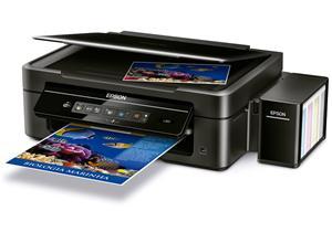 Epson L365/MFZ , A4, 5760x1440dpi,4 int.tankový systém náplní, 33/15 černě/barevně / Wi-Fi/ USB + Office 365 ZDARMA