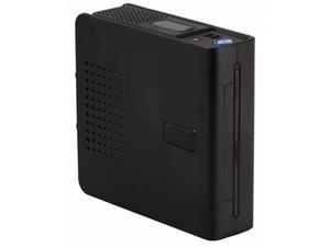 Eurocase mini ITX case WP-01 black, 90W DC/DC, ext. adapter, mini ITX