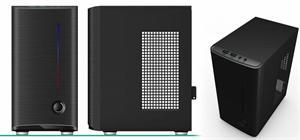 Eurocase mini ITX case X101, bez zdroje, mini ITX