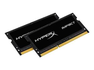 8GB (2X4GB) Kit DDR3L 1866MHz S.O. DIMM (204pin) Kingston HyperX Impact CL11, 1,35V