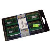 16GB (2x8GB) Kit DDR2/667 DIMM ECC Registered DIMM DR x4, Kingston CL5
