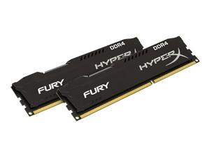 16GB (2x8GB) Kit DDR4 2666MHz DIMM Kingston HyperX FURY Black CL15